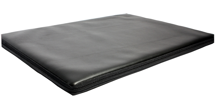 Black carter table pad 1 thick for Table pas large