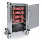 Tray Delivery Carts Stainless Steel: tray capacity: 6. 14