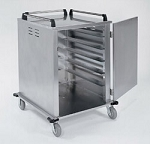 Tray Delivery Carts Stainless Steel: tray capacity: 12ea. 14