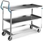 Ergo-One System Utility Cart, medium duty: 2 shelf; 21