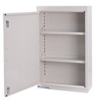 Narcotic Cabinet: 2 shelves; dimensions: 18