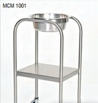 Stainless Steel Solution Stand with Shelf; 15