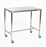 Stainless Steel Instrument Table/Back Table: 18