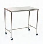 Stainless Steel Instrument Table/Back Table: 24