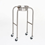 Single Bowl, Stainless Steel Solution Stand with H-Brace  15