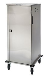 "Tray Delivery Carts Stainless Steel: tray capacity: 18ea. 14"" W x 18"" L or 15"""