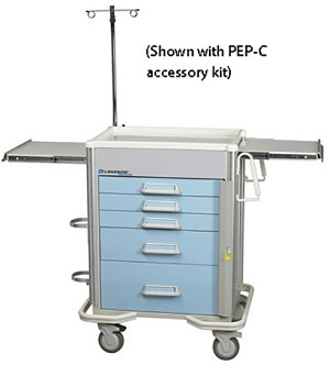 Preferred Elite Hybrid Emergency Cart Accessory Package: PEP-C