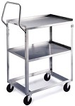 Ergo-One System Utility Cart: 2 shelf; 18
