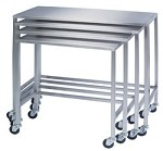 Stainless Steel Instrument Nesting Table: 24