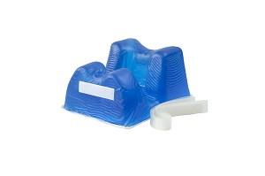 Gel Anesthesia Prone Headrest
