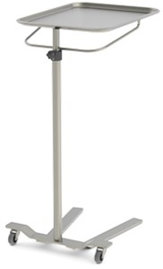 Mayo Stand, Manual knob operated adjustment/single post
