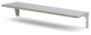 "Stainless Steel Single Over Shelf (11.5""D x 32""W)"