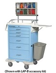 Classic Anesthesia Cart Accessory Package: LAP-B