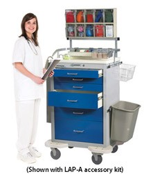 Classic Anesthesia Cart Accessory Package: LAP-A