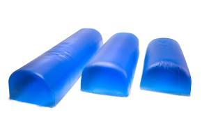 "Gel Flat Bottom Chest Roll, 4"" x 20"" x 4"""