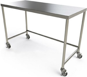 Stainless Steel Surgical Instrument Table