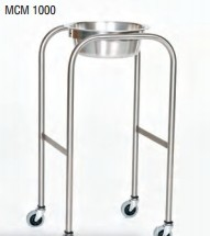 "Stainless Steel Solution Stand with H-Brace 15"" x 18"" x 34"""