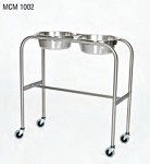 Stainless Steel Solution Stand with H-Brace; 15