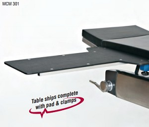 Access Arm and Hand Table