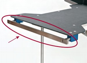 "Add-A-Rail 18"" L for Rectangle-Shaped Table"