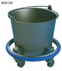 "Kick Bucket/Sponge Receptacles: 14"" H x 13-1/2"