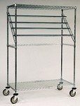 Sterile Wrap Racks: Dimensions: 24