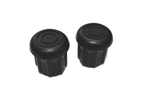"7/8"" Rubber Foot (DOUBLE LEG) pkg of 2"