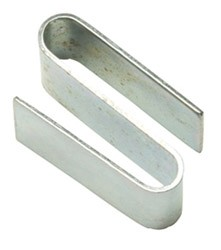 Round Post Wire Accessories: S-Hook for use with add on shelving units