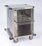 Pull-Out Shelf for Closed Cart, PERFORATED S/S Shelf Width: 18